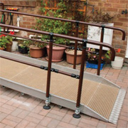 Aluminium Double Handrail 900mm