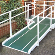 Fibreglass Semi Permanent Ramp (800mm wide)