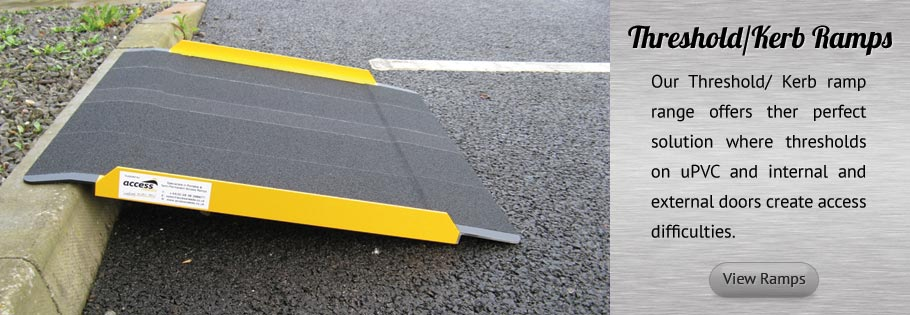 Threshold and Kerb Ramps